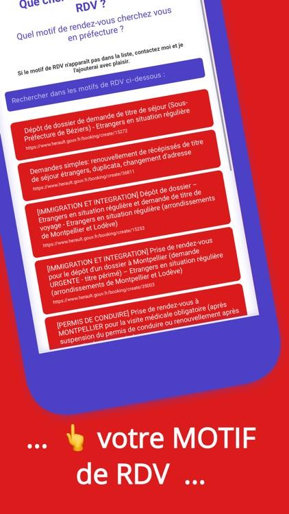 Alertes RDV préfecture (notif) screenshot-3