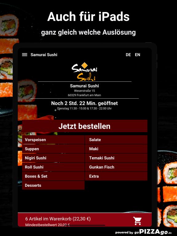 Samurai Sushi Frankfurt screenshot 7
