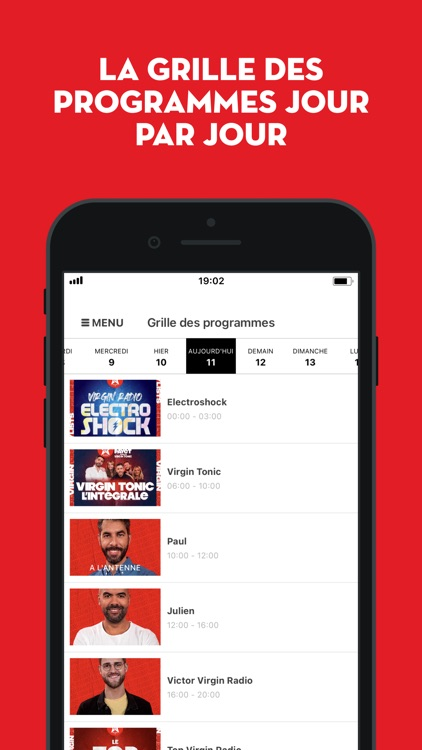 Virgin Radio FR screenshot-5