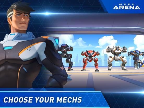 Mech Arena: Robot Showdown iPad app afbeelding 1