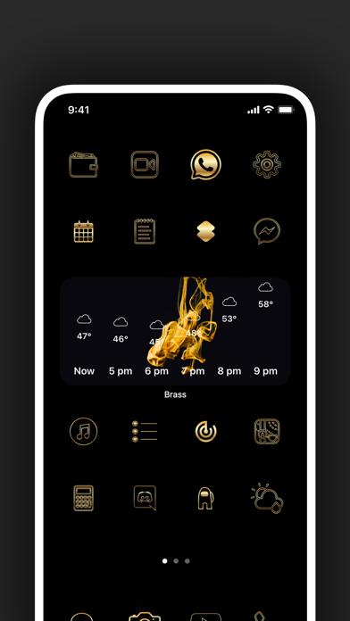Brass - Eigene Icons & WidgetsScreenshot von 10