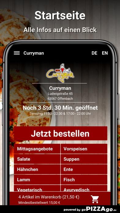 Curryman Offenbach screenshot 2