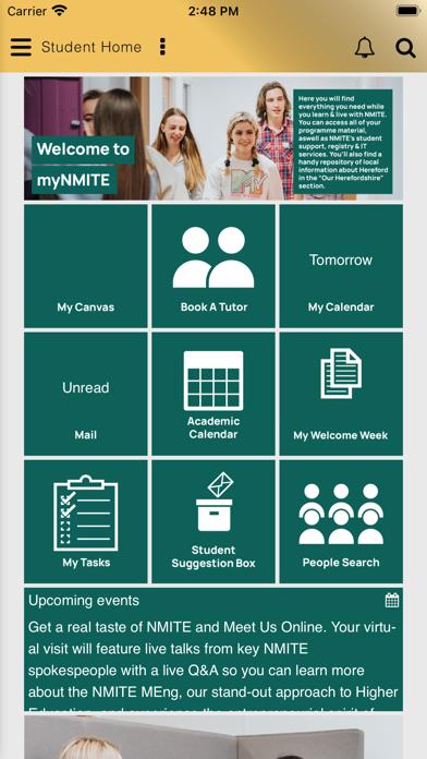 myNMITE - NMITE's Student App screenshot 1