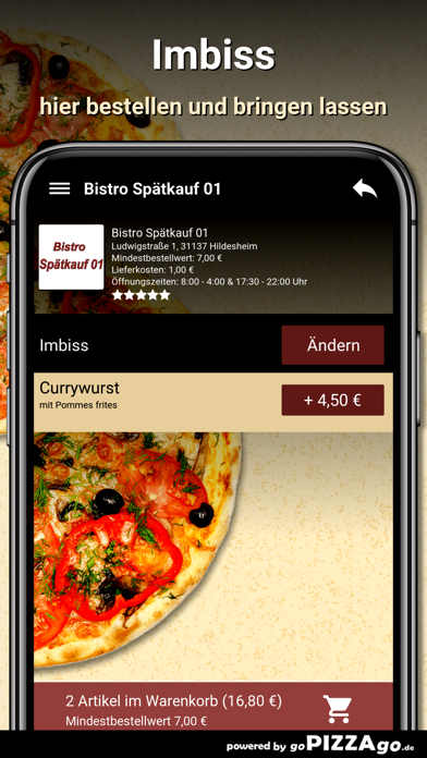 Bistro Spätkauf 01 Hildesheim screenshot 6