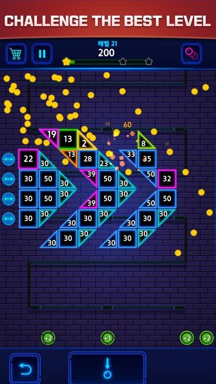 Bricks Breaker Color screenshot-4