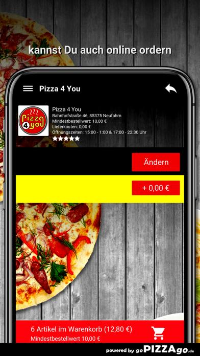 Pizza 4 You Neufahrn screenshot 5