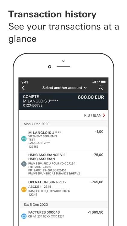 HSBC France screenshot-5