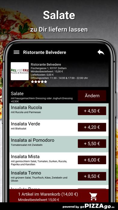 Ristorante Belvedere Zeitlarn screenshot 5