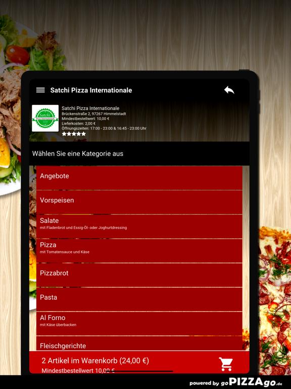 Satchi Pizza Himmelstadt screenshot 8