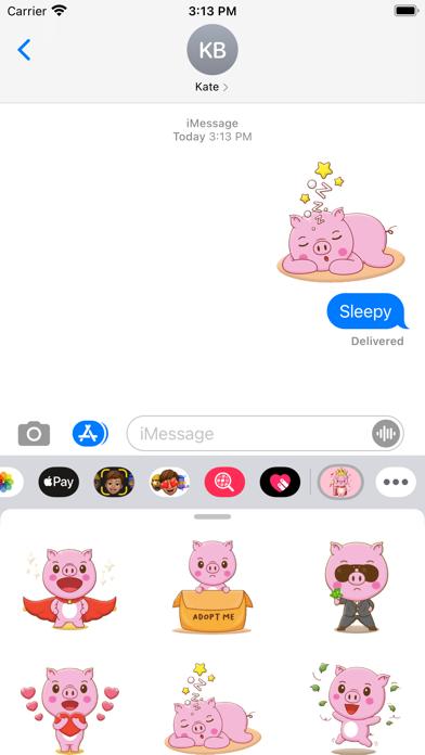 Piglets Stickers screenshot 1