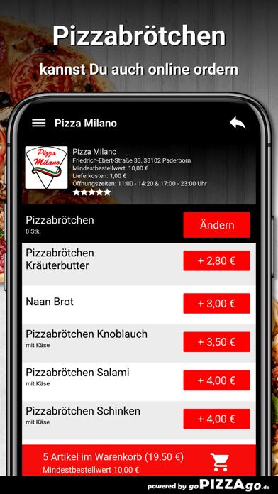 Pizza Milano Paderborn screenshot 5