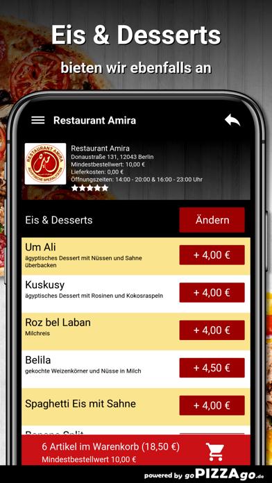 Restaurant Amira Berlin screenshot 6