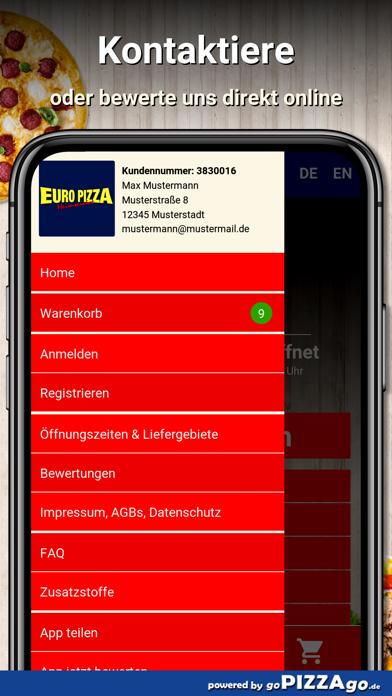 Euro Pizza Achern screenshot 3