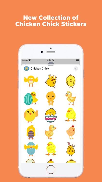 Chicken Chick Emojis