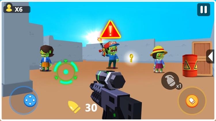 Zombie Terminator 3D screenshot-4
