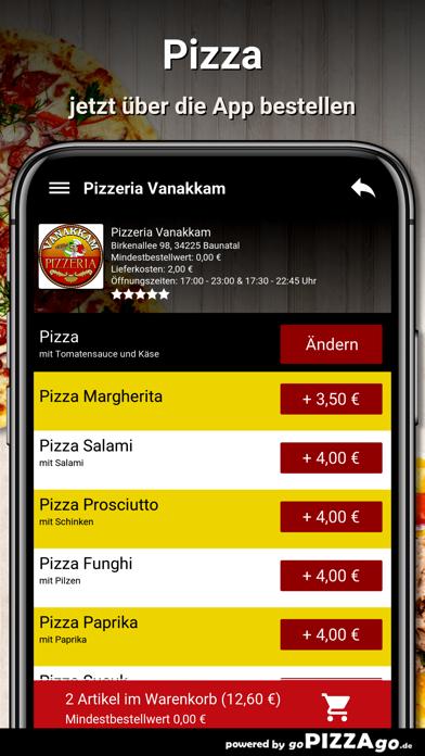 Pizzeria Vanakkam Baunatal screenshot 5