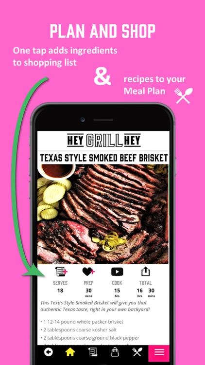 Hey Grill Hey Best BBQ Recipes screenshot-3
