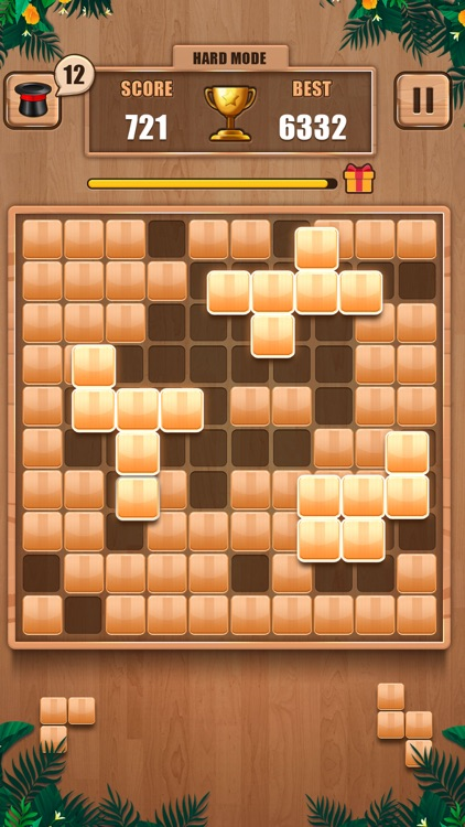 Wooden 100 Block - Hexa Puzzle screenshot-7