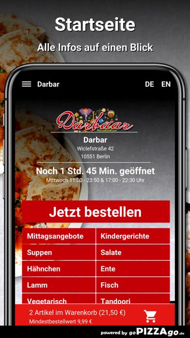 Darbar Berlin screenshot 2