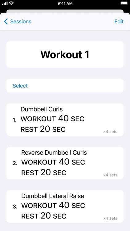 Timed: Workout Timer screenshot-6