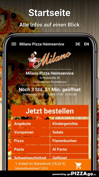 Milano Niefern-Öschelbronn screenshot 2