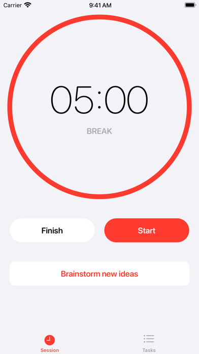 Clockable - Pomodoro Timer screenshot 3