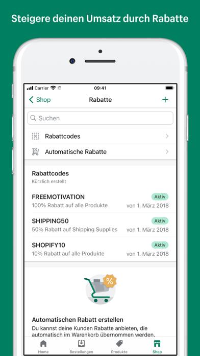 Shopify: Mobiler E-CommerceScreenshot von 5