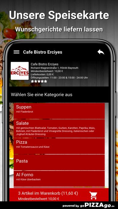 Cafe Bistro Erciyes Bayreuth screenshot 4