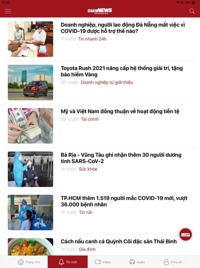 Đọc báo VTC News
