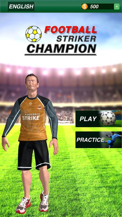 本物のサッカーサッカーストライカー紹介画像1