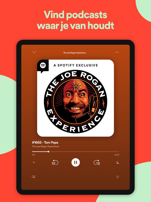 Spotify - Muziek en podcasts iPad app afbeelding 4