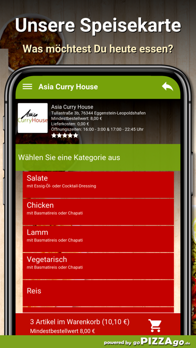 Asia Curry House Eggenstein screenshot 6