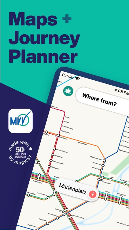 Munich Metro - map & route screenshot-0