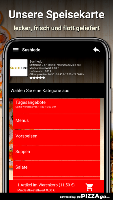 Sushiedo Frankfurt screenshot 4