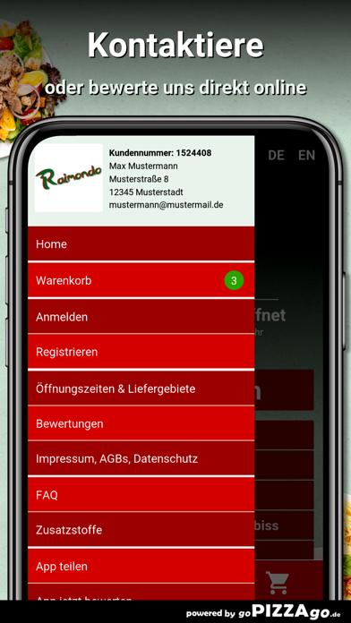 Pizzeria Raimondo Wiesbaden screenshot 3