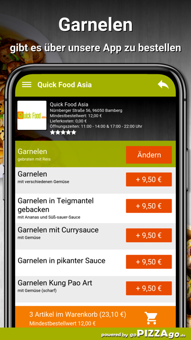 Quick Food Asia Bamberg screenshot 6