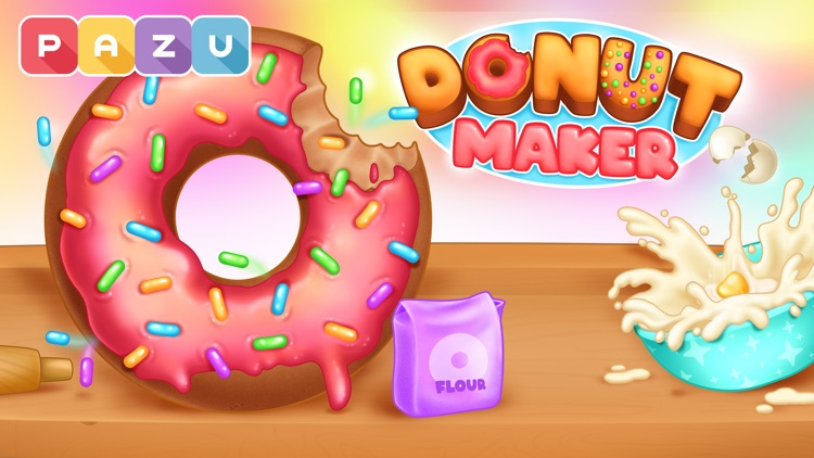 Donut maker Cooking games screenshot-4