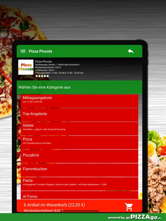 Pizza Piccola Bad Schönborn screenshot 8
