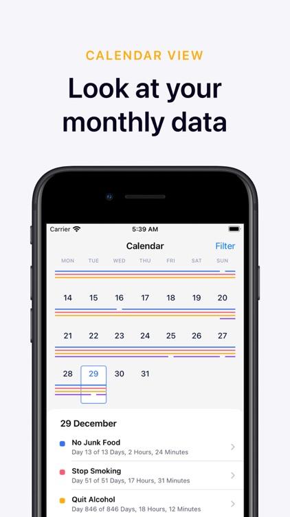 Days Since: Quit Habit Tracker screenshot-5