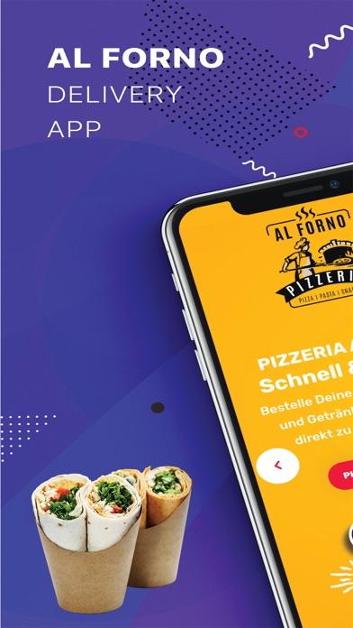 Screenshot 1 of Al Forno - Pizzeria App