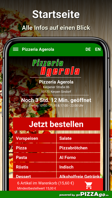 Agerola Kerpen Sindorf screenshot 2