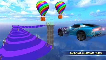 SuperHero Ramp Car Stunt 3D screenshot 1