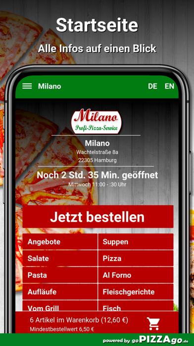 Milano Hamburg screenshot 2