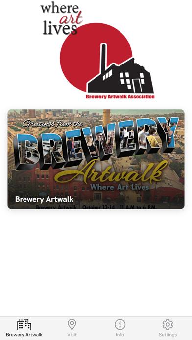 Brewery Artwalk App screenshot 1
