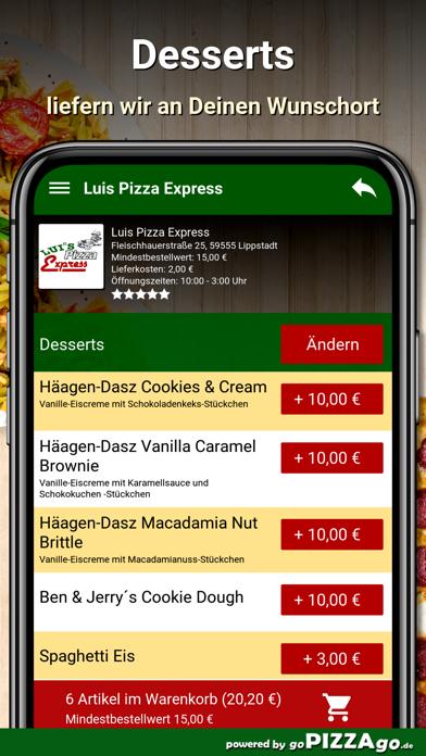 Luis Pizza Express Lippstadt screenshot 6
