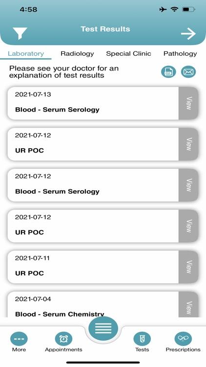 خدمات المرضى screenshot-4