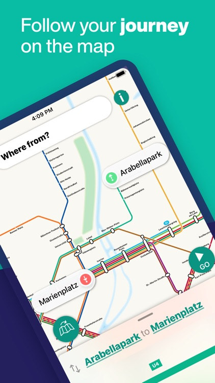 Munich Metro - map & route screenshot-3
