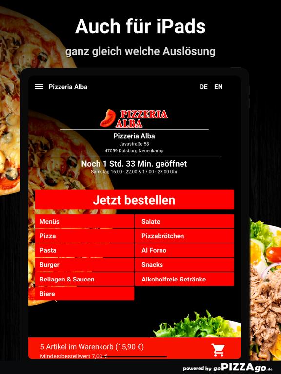 Pizza Alba Duisburg Neuenkamp screenshot 7