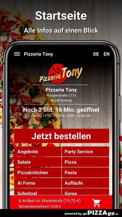 Pizzeria Tony Bottrop screenshot 2