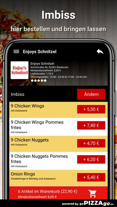 Enjoys Schnitzel Niederzier screenshot 6
